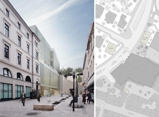 parkhaus coulinstrasse competitionline. Black Bedroom Furniture Sets. Home Design Ideas