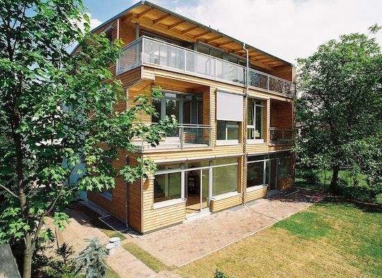 projekt doppelhaus wichgrafstra e potsdam babels competitionline. Black Bedroom Furniture Sets. Home Design Ideas