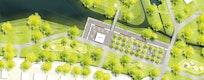 Woog-Park: 1:500, © geskes.hack Landschaftsarchitekten GmbH, planquadrat Elfers Geskes Krämer PartG mbB, Planungsbüro von Mörner