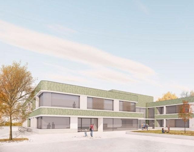 Neubau der Schule an der Humannstraße in Bremen