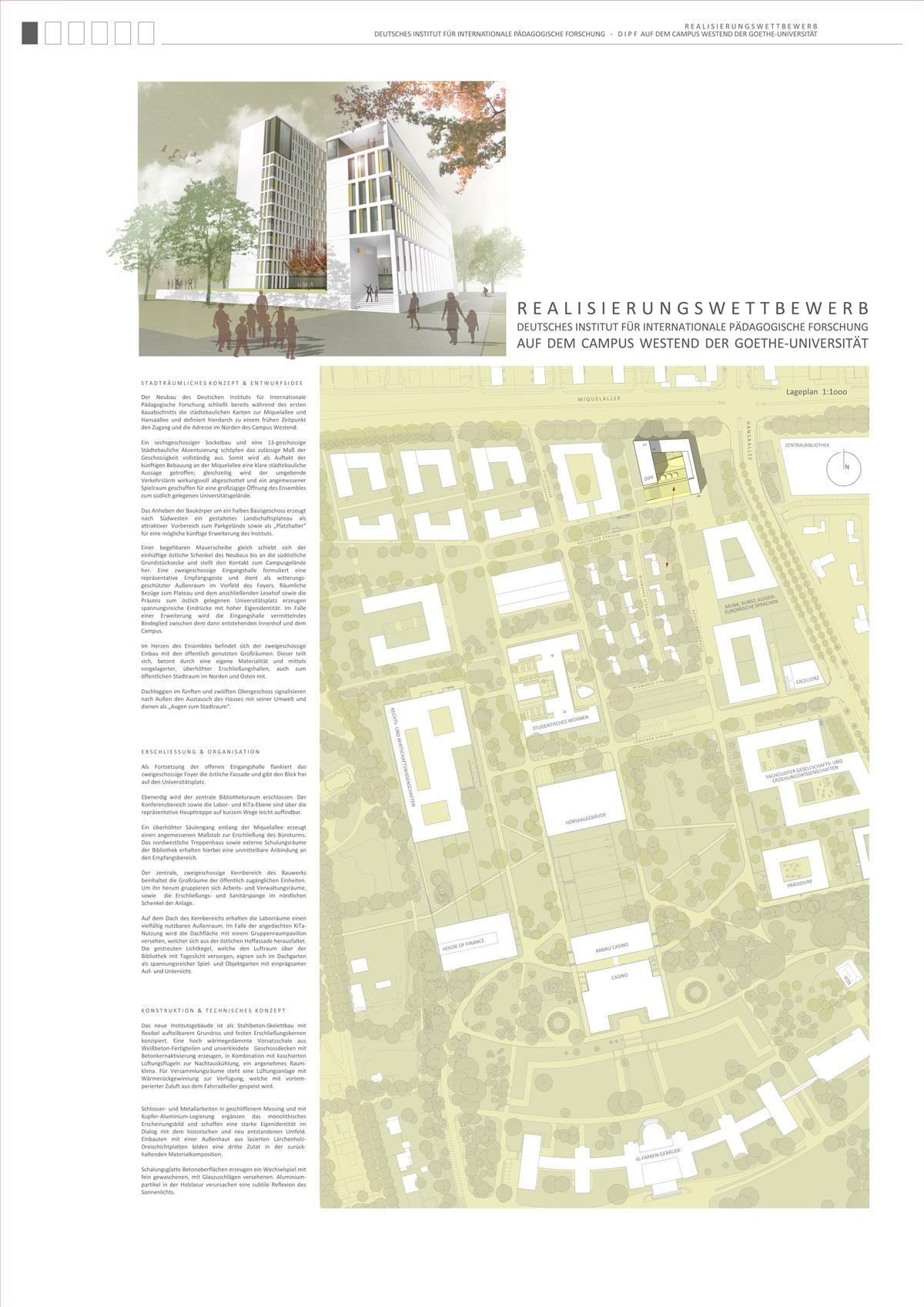 Result: Neubau Deutsches Institut für international...competitionline