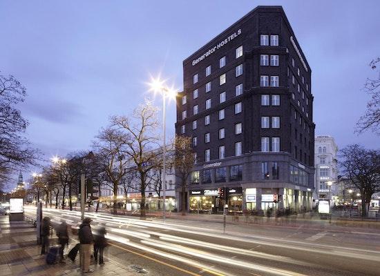 projekt klockmannhaus generator hostel hamburg competitionline. Black Bedroom Furniture Sets. Home Design Ideas