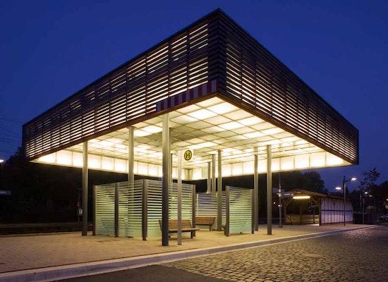 Anerkennung: Umgestaltung Bahnhof, Magistrat der Stadt Grebenstein, schöne aussichten landschaftsarchitektur, © Dirk Wilhelmy Fotographie