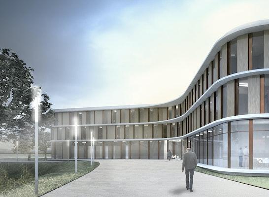 1. Preis: Bundesamt für Strahlenschutz (BfS) - Neubau Dienstgebäude K12, © hks | architekten