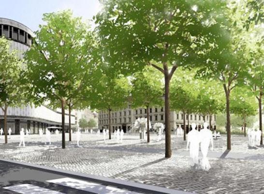 Ergebnis Neugestaltung Richard Wagner Platz Und Umf