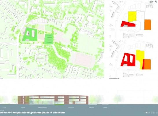 kgse neubau der kooperativen gesamtschule elmshorn competitionline. Black Bedroom Furniture Sets. Home Design Ideas