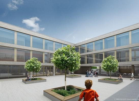 Zuschlag: Neubau Perspektive Innenhof