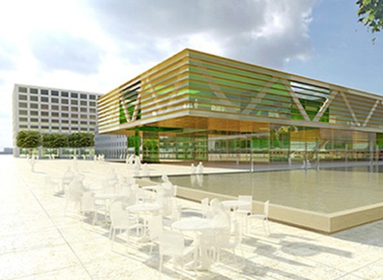 ein 2. Preis: Hähnig + Gemmeke Freie Architekten BDA, Tübingen (DE)