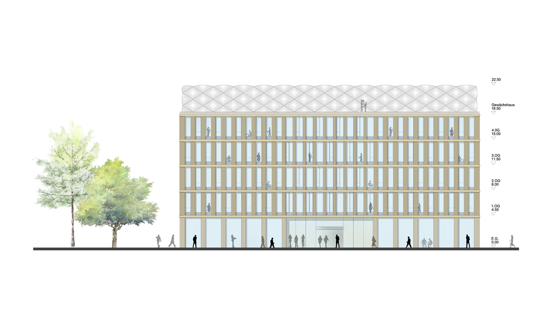 Ergebnis: Gebäudeintegriertes Dachgewächshaus und ...competitionline
