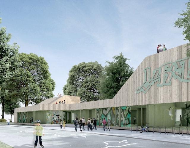 Neubau eines Jugendhauses in Balingen