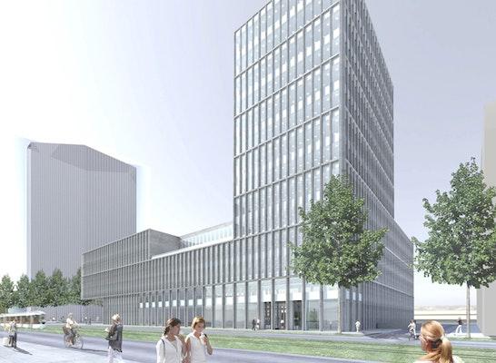 Ergebnis Neubau Bilfinger Zentrale Mit Integriertem