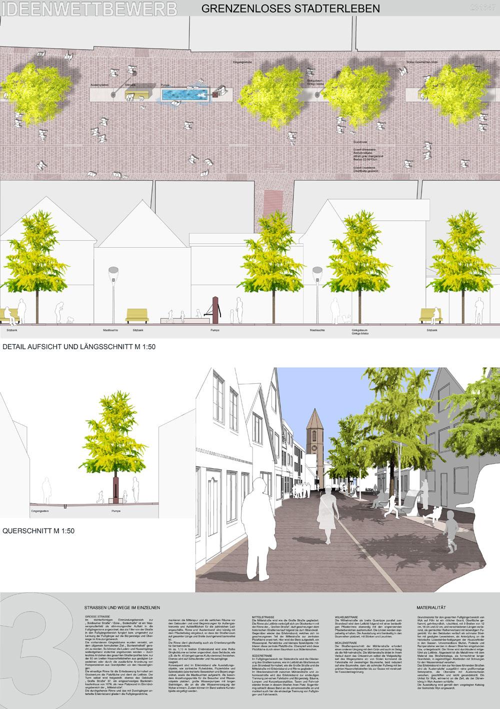 2nd Prize Grenzenloses Stadt Erleben Competitionline