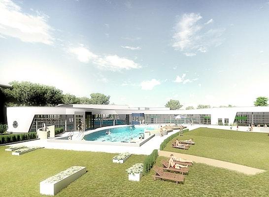 Ergebnis Neubau Eines Ganzjahresbades Architekt