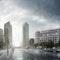 Büro- und Geschäftshaus Leipziger Platz 18-19; léonwohlhage Architekten, Berlin; Blick vom Leipziger Platz in Richtung Potsdamer Platz