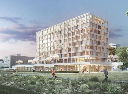 1. Preis Realisierungsteil Hotel: Perspektive von der Moltkestraße, © Fabian Berthold
