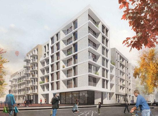 Ergebnis mitte altona block 4 competitionline for Architekten hamburg altona