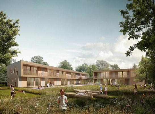 Neubau kita sch tzenplatz competitionline - Architekt radebeul ...