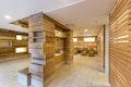 Raumteiler im Abkühlbereich