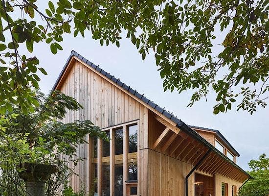 Holzbaupreis | Kategorie Einfamilienhaus: Gartenhaus Winkler, Hohengasser Wirnsberger Architekten ztgmbh, Holzbau Tschabitscher GmbH, Gartenhaus, © Johannes Puch