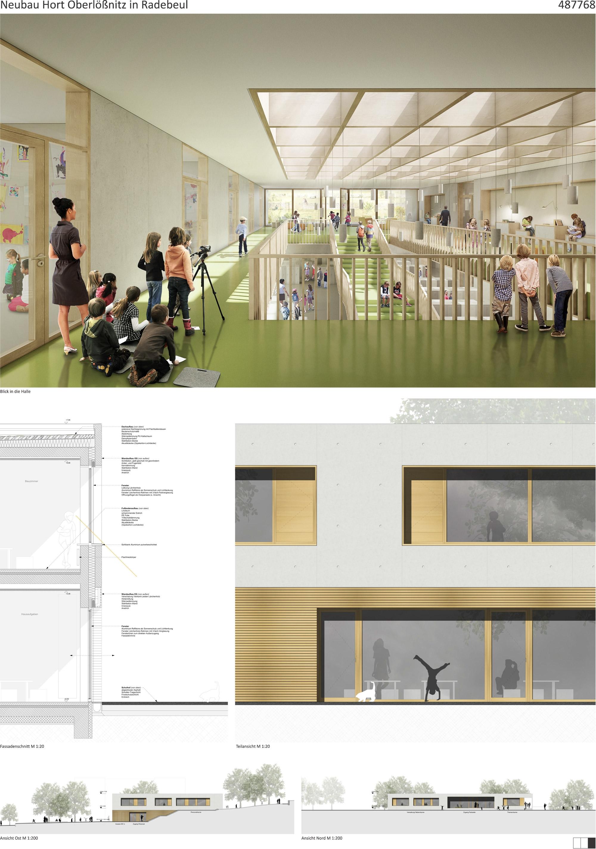 Architekt Radebeul ergebnis neubau hort oberlößnitz competitionline