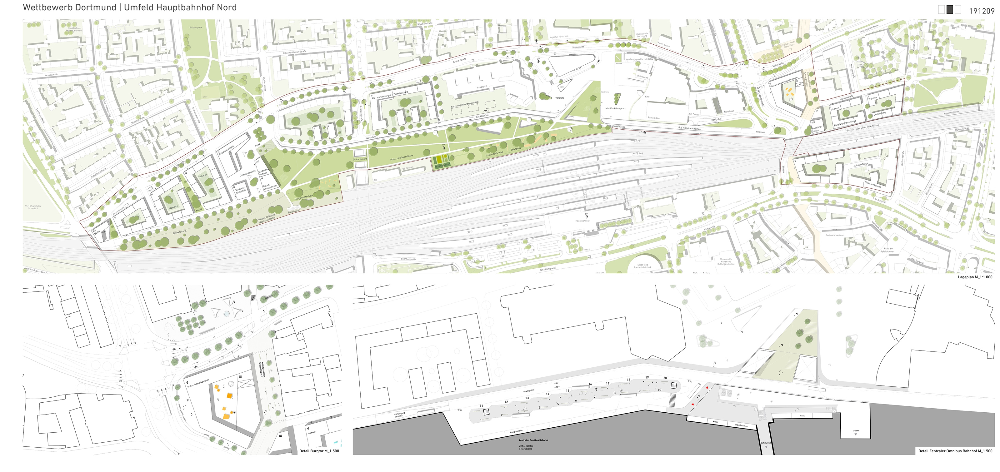 Ergebnis Umfeld Hauptbahnhof Nordcompetitionline