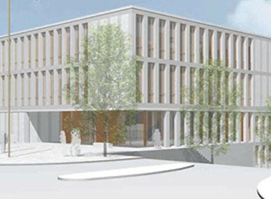 Ergebnis Neubau Amtsgericht Competitionline