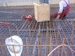 Bauphase Ausschitt Bodenplatte