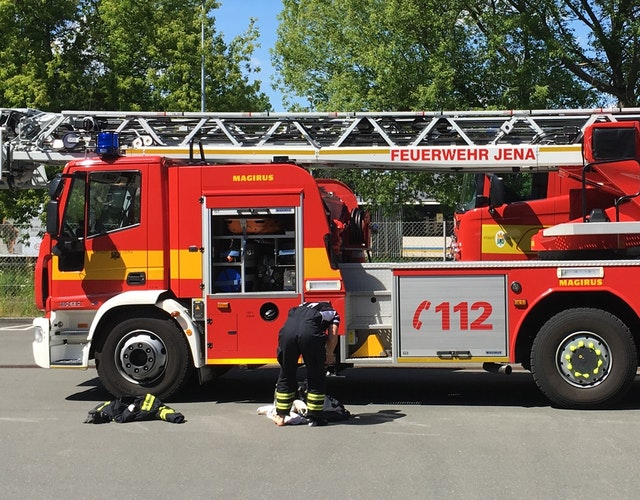 """Architektenleistungen, """"Neubau Katastrophenschutzlager / Erweiterung Feuerwehr Göschwitz"""", Parkstraße 10, 07745 Jena"""