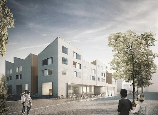 ergebnis urbanes leben am papierbach baufeld competitionline. Black Bedroom Furniture Sets. Home Design Ideas