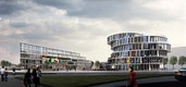 Blick vom Berliner Platz