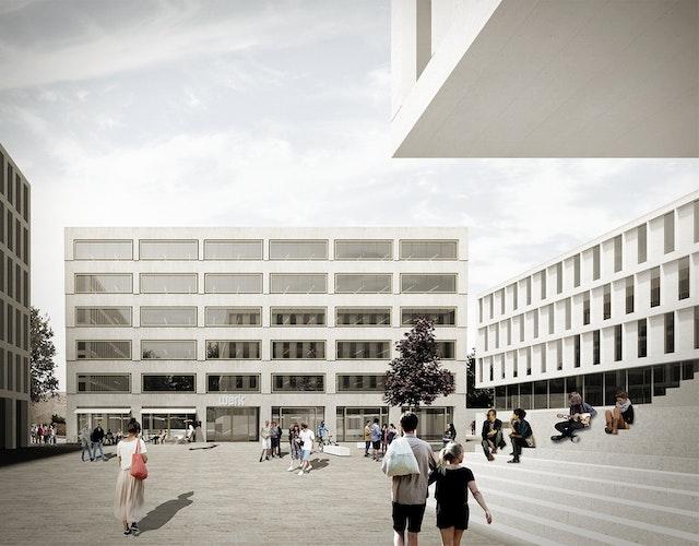 Neubau Servicehaus – HOAI Fachplanung TWP