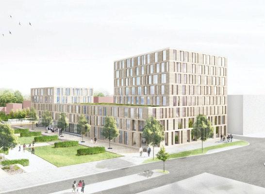 Gewinner: Perspektive, © Braunger Wörtz Architekten