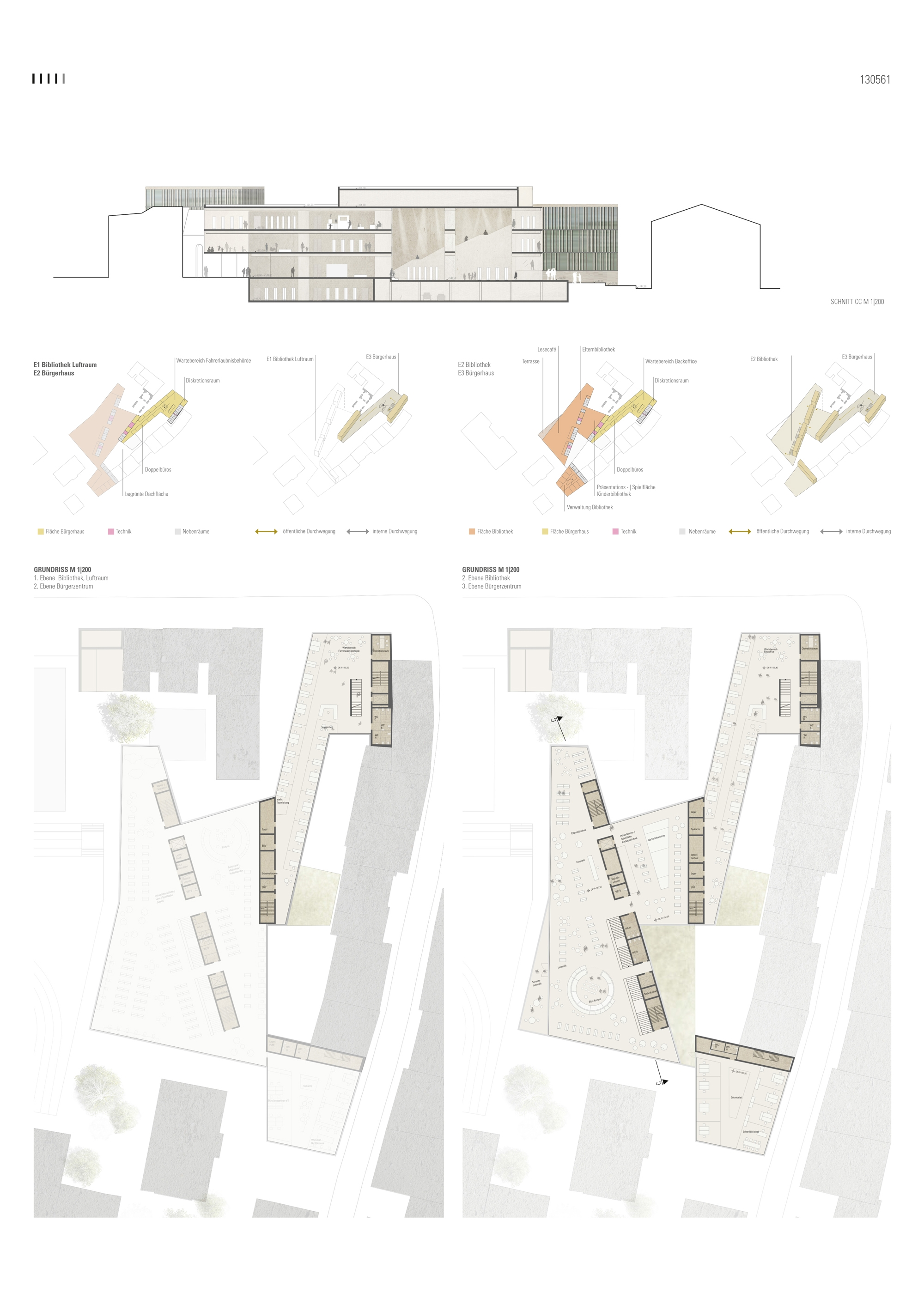 Result: Neubau Bibliothek und Bürgerservice der Sta...competitionline