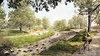 Mehrgenerationenpark mit Stadtgartenufe