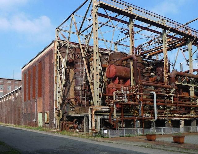 Kokerei Hansa, Dach- und Fachsanierung der Salzfabrik und Abtreiberbühne, Dortmund – Objektplanungsleistungen