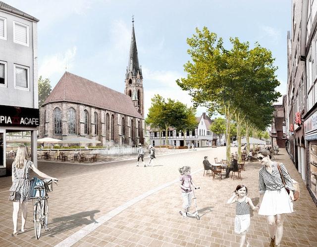 Visualisierung Kirchplatz