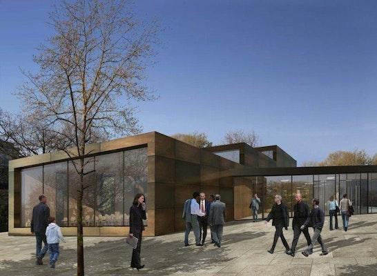 ein 2. Preis Zuschlag: Visualisierung außen, © HPP Architekten