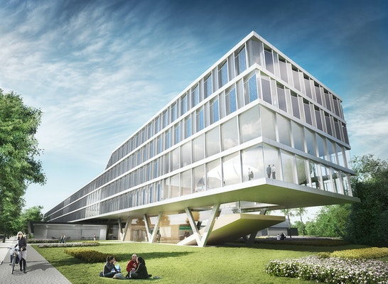 ein 1. Preis Neubau eines Institutsgebäudes für da...competitionline