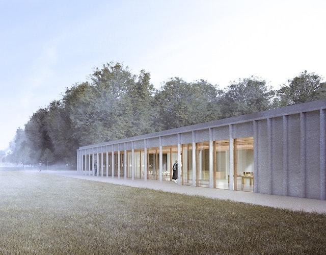 Neubau eines Besucherzentrums auf Schloss Clemenswerth in Sögel