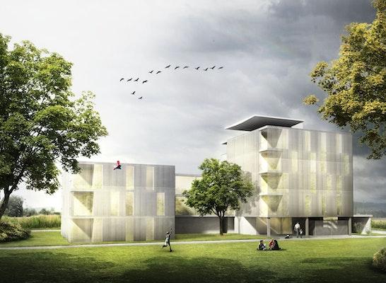 1. Rang Gewinner: Schaubild, © architekt wetschko