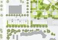 Grundriss, © O. M. Architekten + chora blau Landschaftsarchitektur