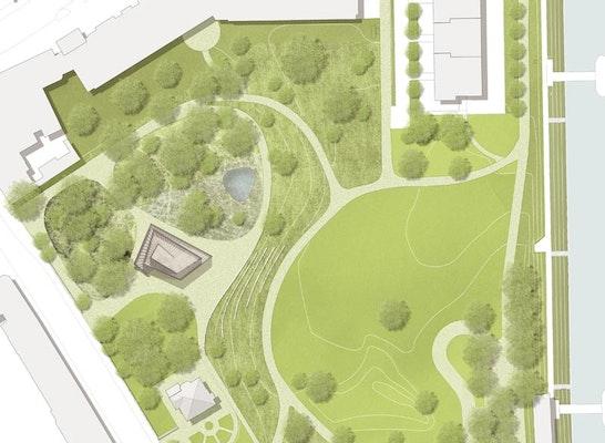 Ergebnis St Johanns Park Neubau Pavillon Und Teil