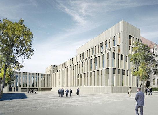 Strafjustizzentrum Nürnberg, LÉON WOHLHAGE WERNIK, Perspektive