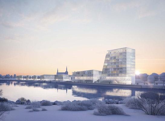 1. Rang: Blick von Nordosten über die Ober-Eider, © LH Architekten