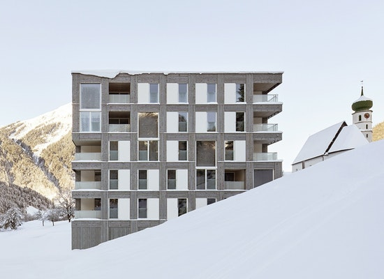 projekt wohnanlage st gallenkirch competitionline. Black Bedroom Furniture Sets. Home Design Ideas