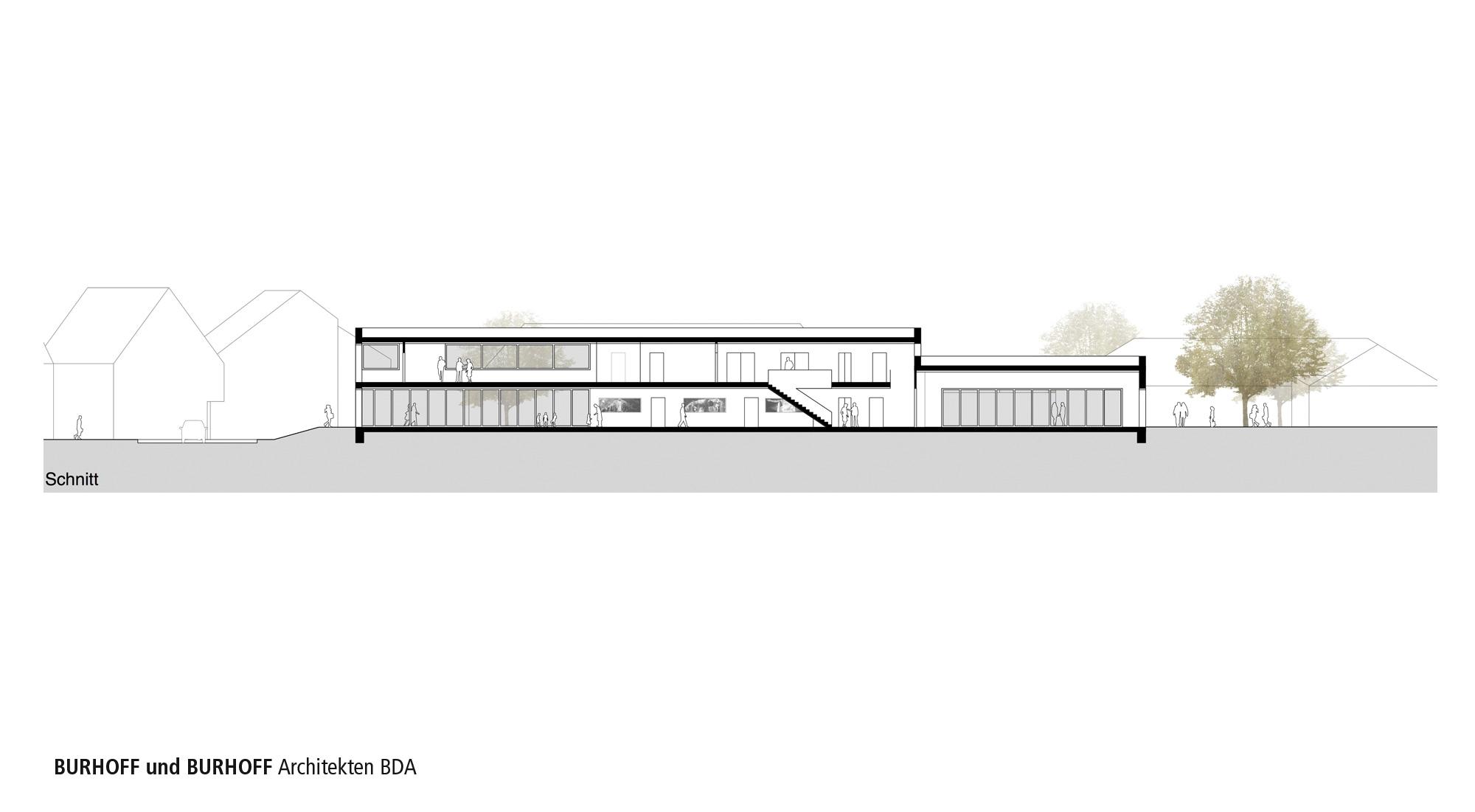 Architekt Stadtlohn ergebnis neubau pfarrheim st otger competitionline