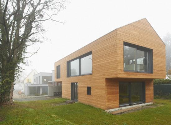 projekt wohnhaus aus holz competitionline. Black Bedroom Furniture Sets. Home Design Ideas