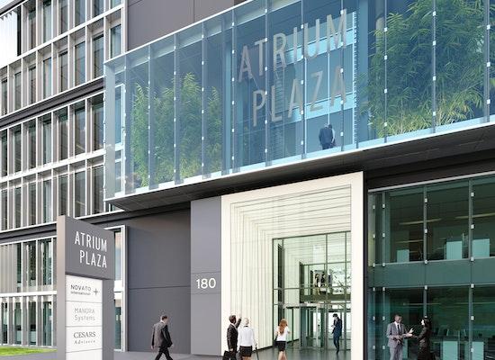 Projekt atriumplaza mainzer landstrasse 178 190 - Ganter architekten ...