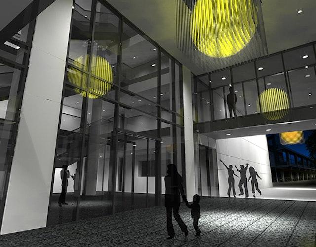 1. Preis: Day & Light Lichtplanung GbR, München; Yoshiyuki Miura - Bildhauer, München