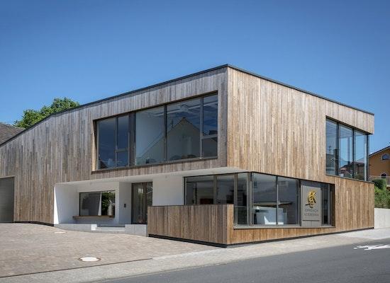 Hille Architekten project neubau vinothek weingut emmerich koebernik competitionline